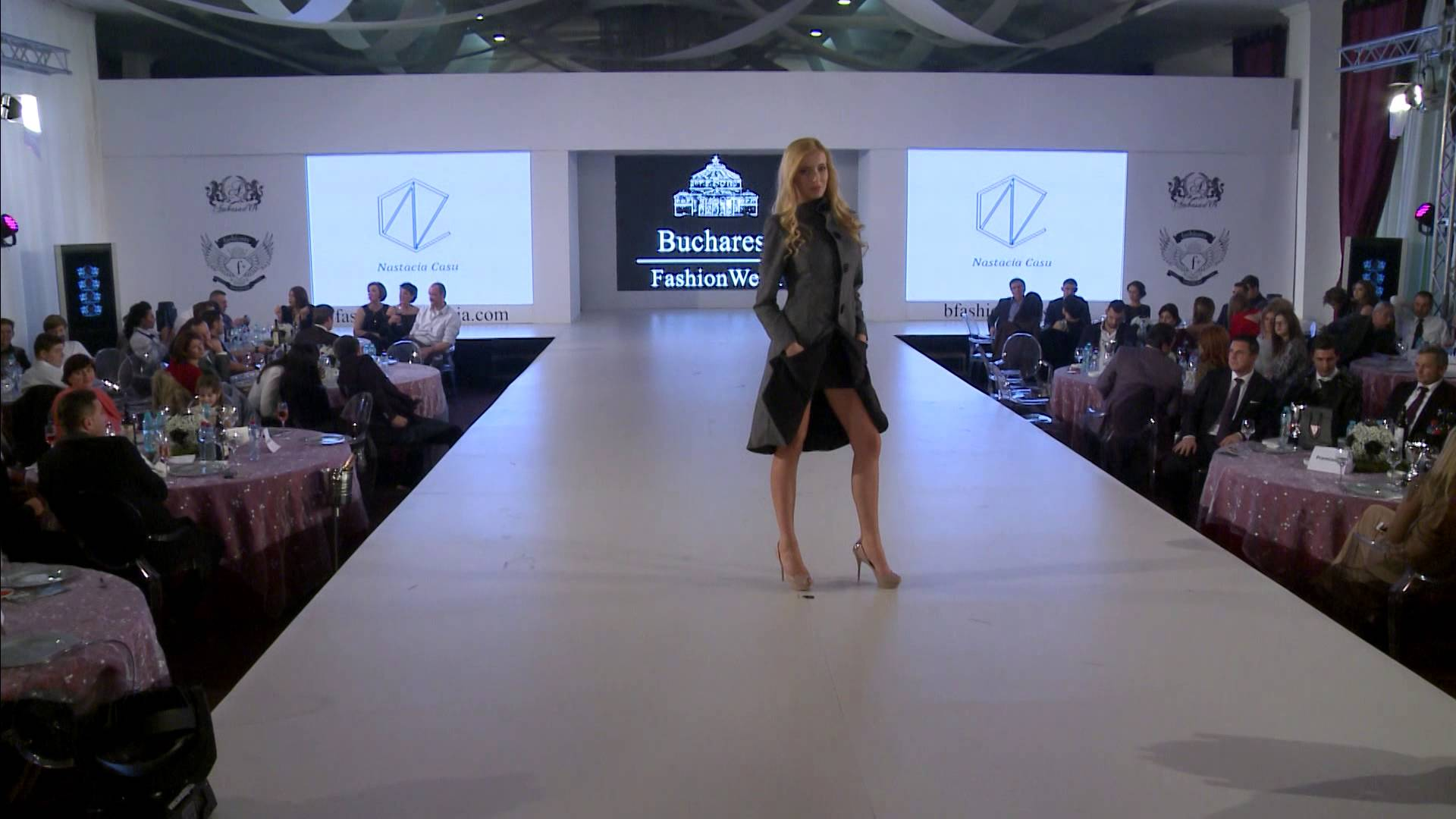 natascia casu Bucharest fashion week