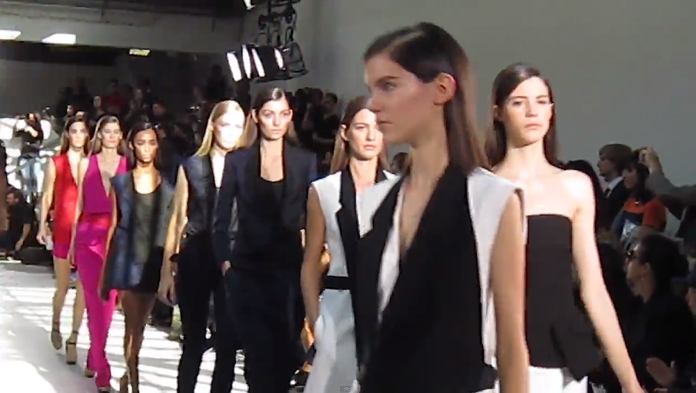 Paris fashion week primavera estate 2013 - SFTV