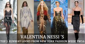 i megliori looks delle sfilate di moda di new york